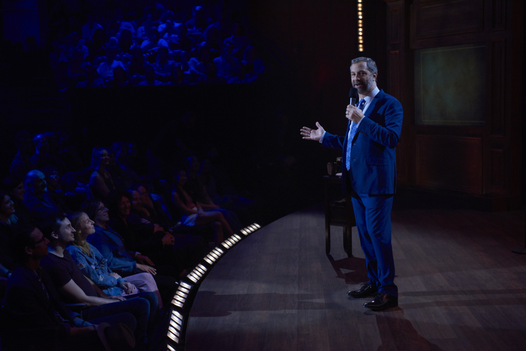 Judd Apatow in his Netflix comedy special,