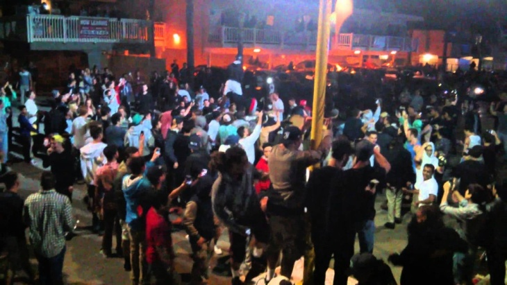 Isla Vista Riot Deltopia 2014