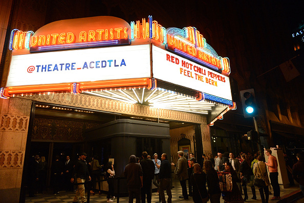 The Red Hot Chili Peppers held a  fundraiser for Bernie Sanders earlier this month at the Ace Hotel Theater in Los Angeles.