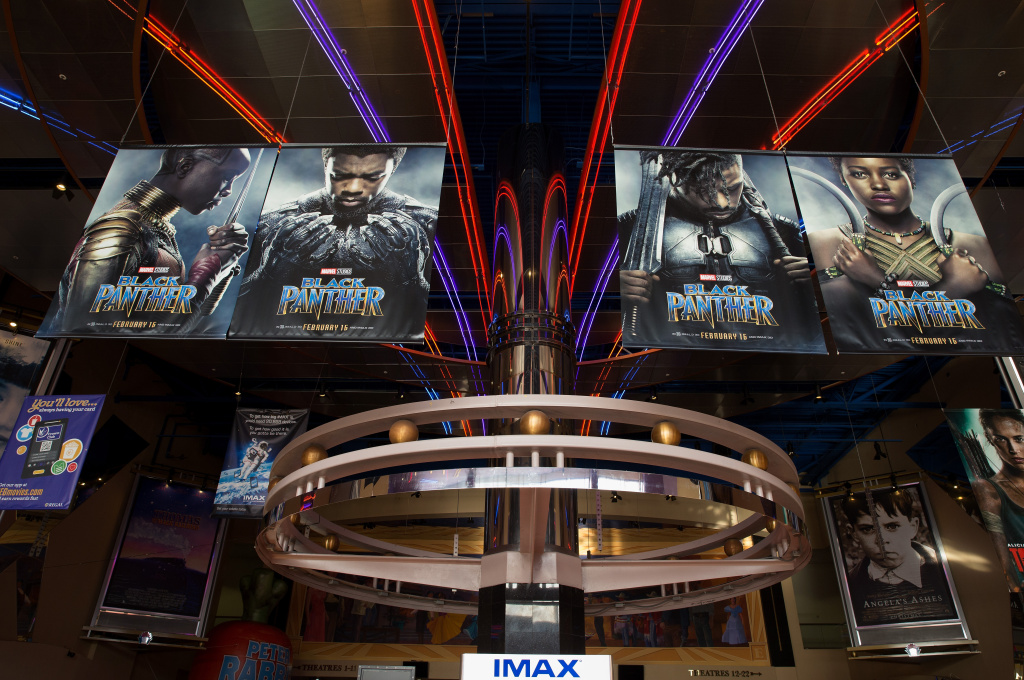 IMAX, Regal Entertainment Group, Walt Disney Picture and Marvel Studios hosted an advanced IMAX screening of