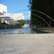 Getty Fountains