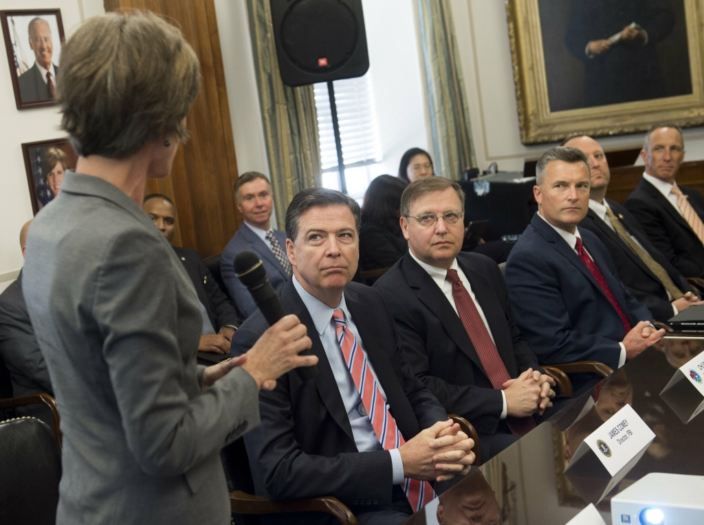 Obama administration officials at an Implicit Bias Training in 2016.