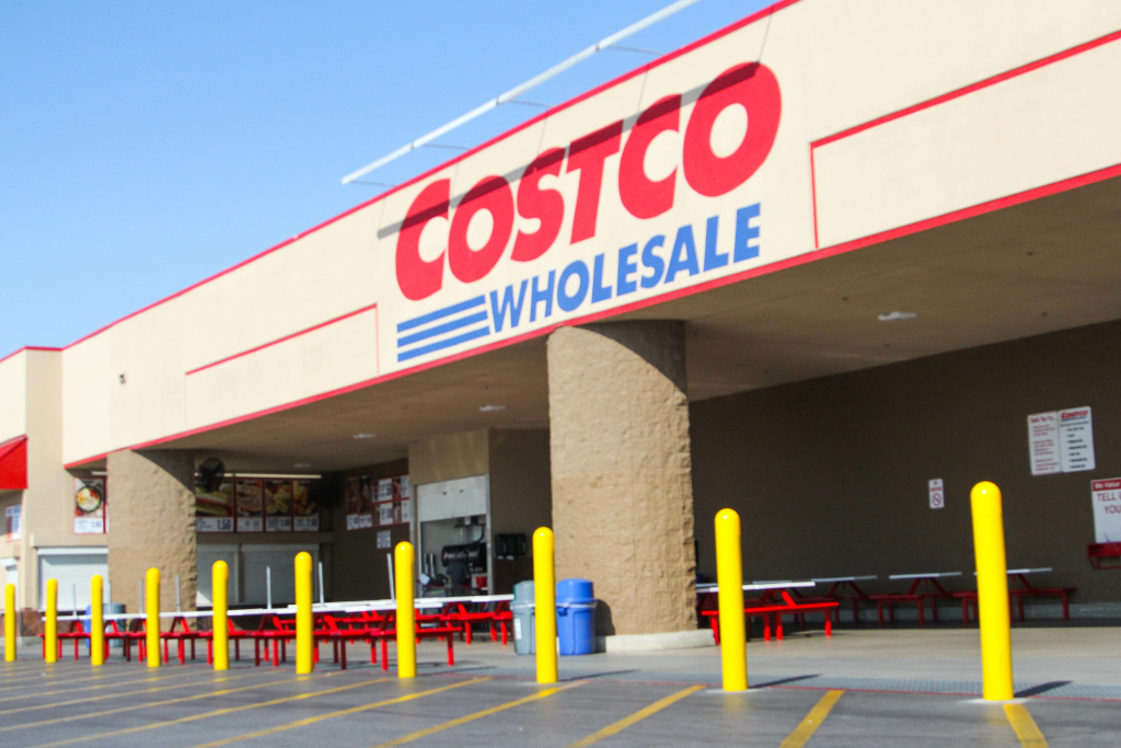 The Costco store in Corona.