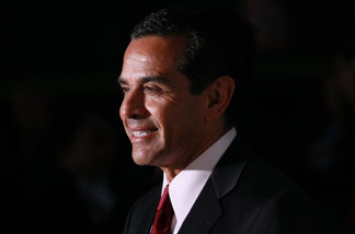 LA mayor Antonio Villaraigosa attends the premiere of Paramount Pictures' 'Waiting For Superman' at the Paramount Theatre on September 20, 2010 in Hollywood, California.