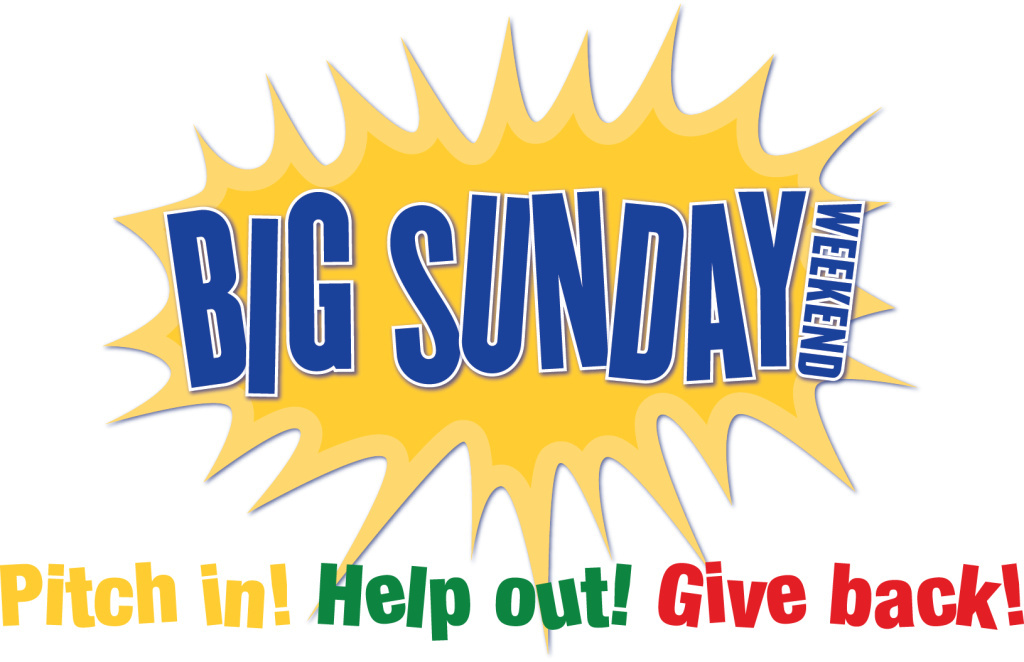 Big Sunday banner.