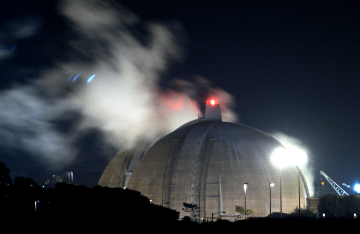 Edison announced the permanent closure of the San Onofre nuclear plant last year. Now it's auctioning off pieces of the plant.