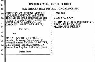 Image from the complaint - Valentini vs. Shinseki