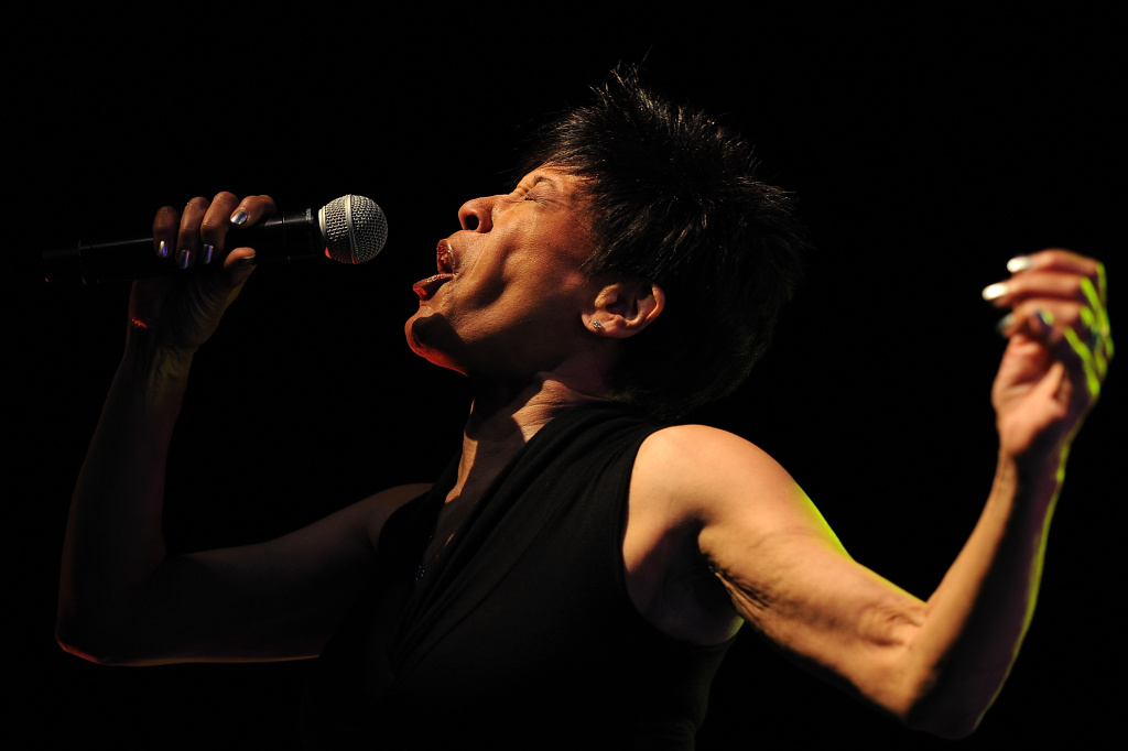 Bettye Lavette performs on stage at Bluesfest 2013 - Day 4 on March 31, 2013 in Byron Bay, Australia.