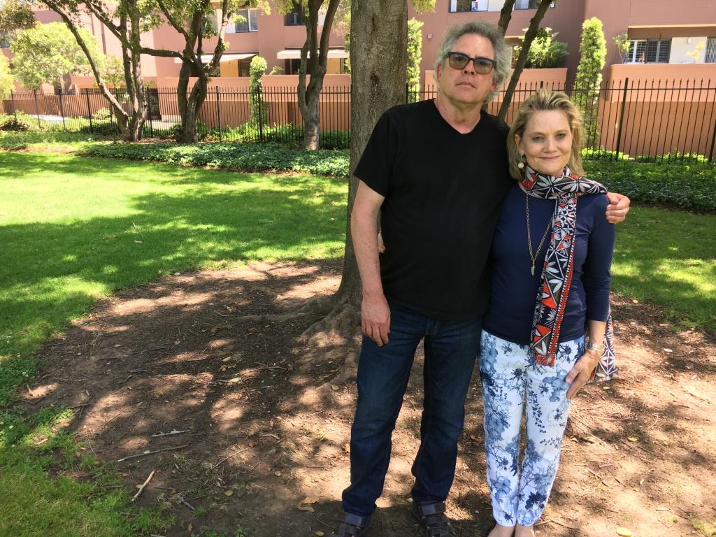 Chris Slatoff and Jaynie Studenmund
