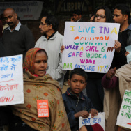 INDIA-RAPE-POLITICS-WOMEN
