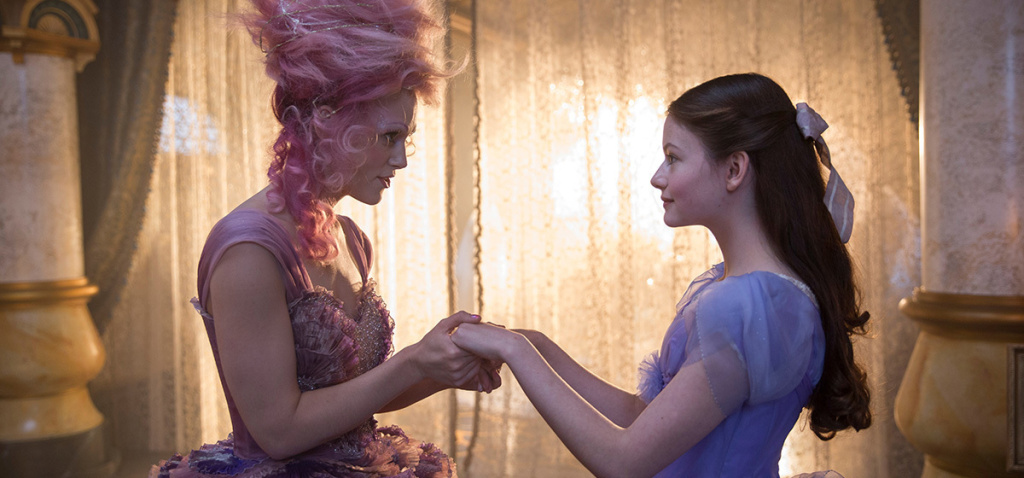 Mackenzie Foy and Keira Knightly star in Disney's