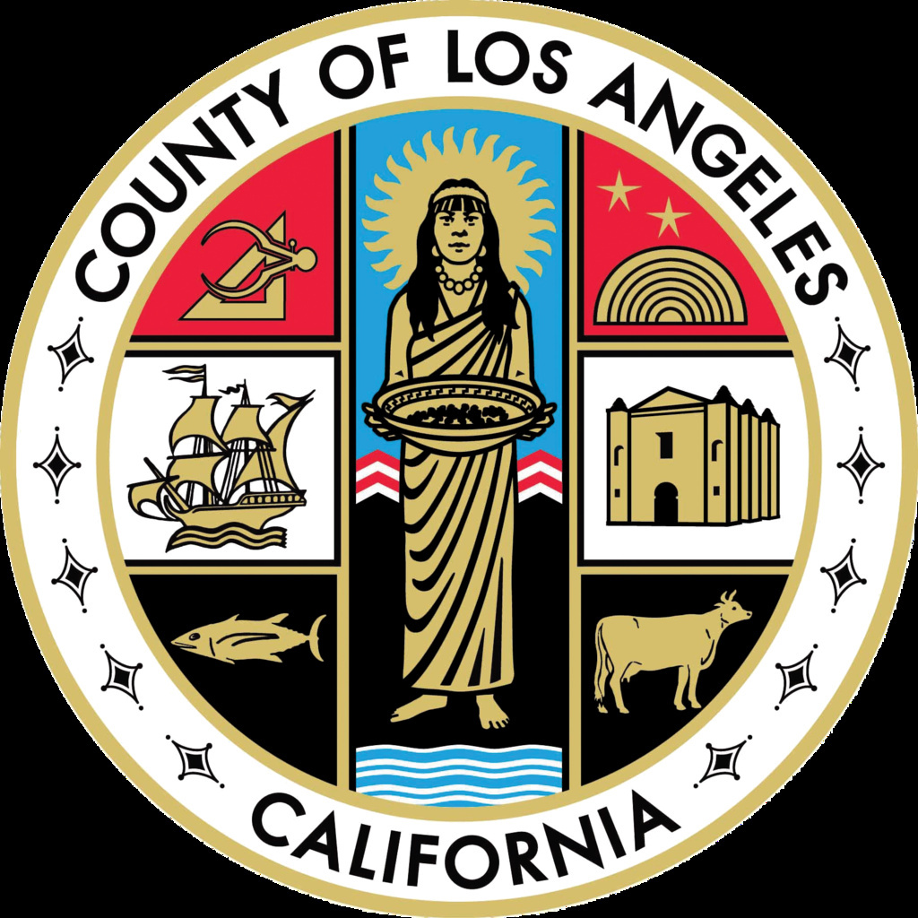 "The current seal of Los Angeles County, California, e.g. ""L.A. County seal"", adopted by the Los Angeles County Board of Supervisors in September 2004."