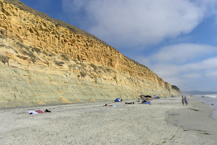 The Cliffs at Torrey Pines Beach Preserve - San Diego, USA