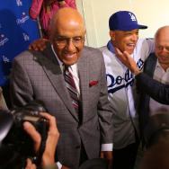 Los Angeles Dodgers Introduce Dave Roberts
