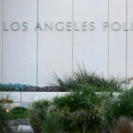 US-CRIME-POLICE-INCIDENT lapd station