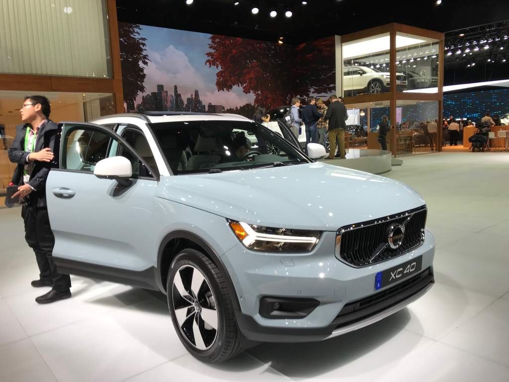 Volvo's new XC 40, it's new compact crossover.
