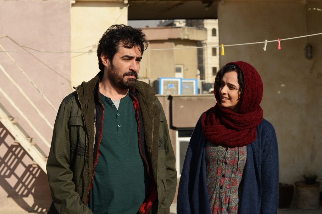 Shahab Hosseini as Emad and Taraneh Alidoosti as Rana in