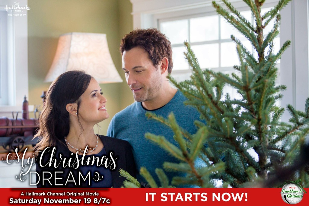 "The Hallmark Channel Original Movie ""My Christmas Dream"" starring Danica McKellar, David Haydn-Jones and Deidre Hall."