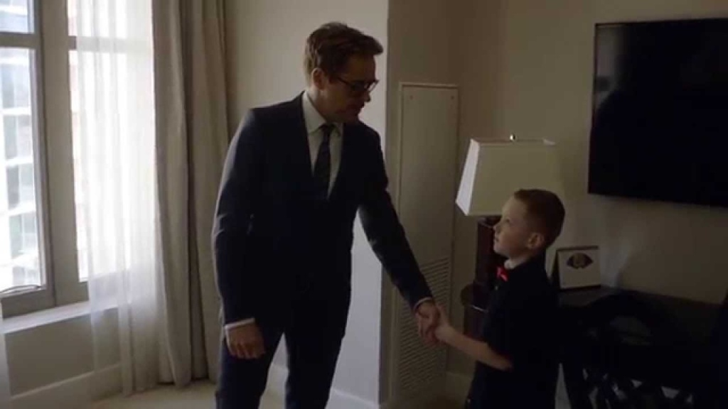 Robert Downey Jr. and Albert Manero, a Collective Project student who founded Limbitless, surprised a child with a new bionic 3D printed arm at no cost to the family.