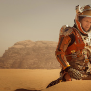 "Matt Damon stars as astronaut Mark Watney in ""The Martian."""