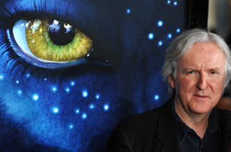 Director James Cameron arrives at the premiere of 'Avatar,' at the Grauman's Chinese Theatre, in the Hollywood section of Los Angeles, California on December 16, 2009.