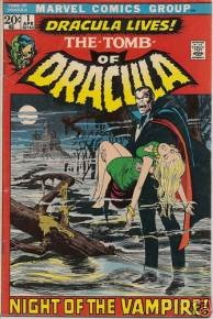 The Tomb of Dracula, Issue 1.