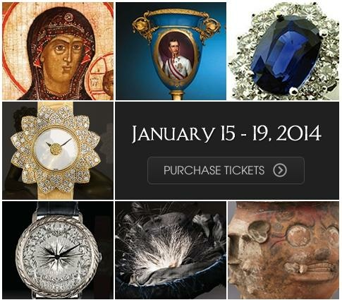 Los Angeles Jewelry, Antique & Design Show 2014