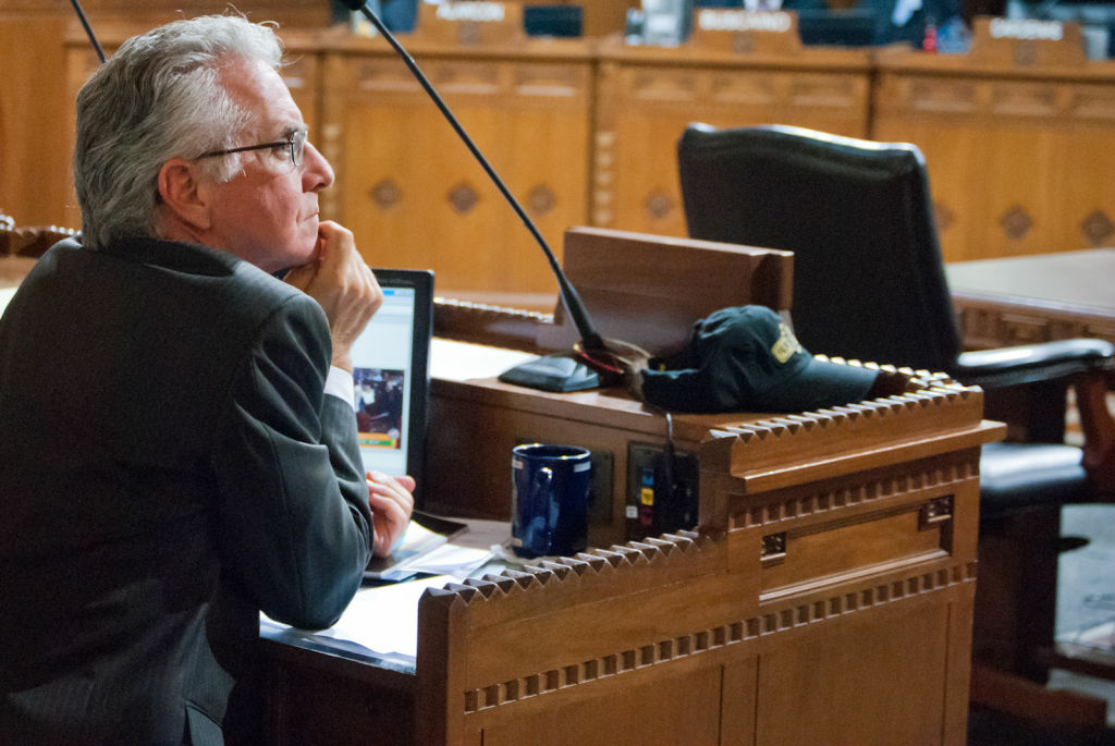 L.A. City Councilman Paul Krekorian said Eric Garcetti's work on the city budget and innovative ways of delivering city services led to his endorsement.
