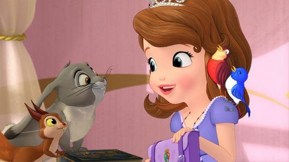 "The new Princess Sofia from ""Sofia the First: Once Upon A Princess,"" which debuts Nov. 18 on the Disney Channel."