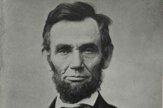 A portrait of President Lincoln taken November 8th, 1863