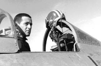 James Salter, fighter pilot.