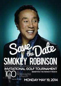 Smokey Robinson Invitational Golf Tournament Benefiting The Midnight Mission