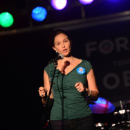Ashley Judd & Rodney Crowell - Tennesseans For Obama Benefit