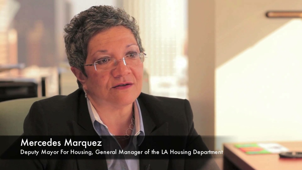 The general manager of the City of LA's Housing Department announced her resignation Friday.