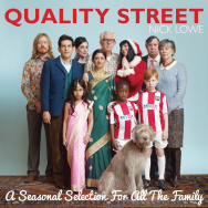 Cover art for Nick Lowe's new album, Quality Street