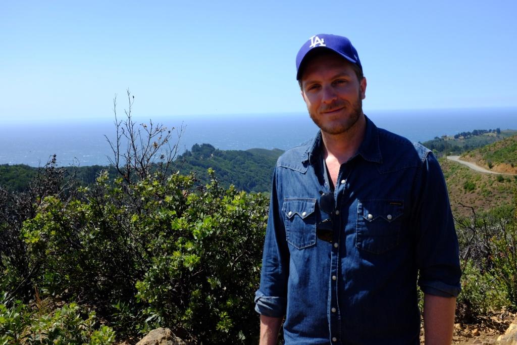 KPCC listener David Jourdan on a hike in Southern California.