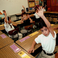 Monolingual Hispanic Students Learn English