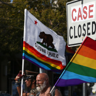 Celebrations Take Part Across Country As Supreme Court Rules In Favor Of Gay Marriage