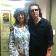 Damien Echols with Patt Morrison