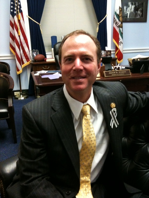 Congressman Adam Schiff of Burbank