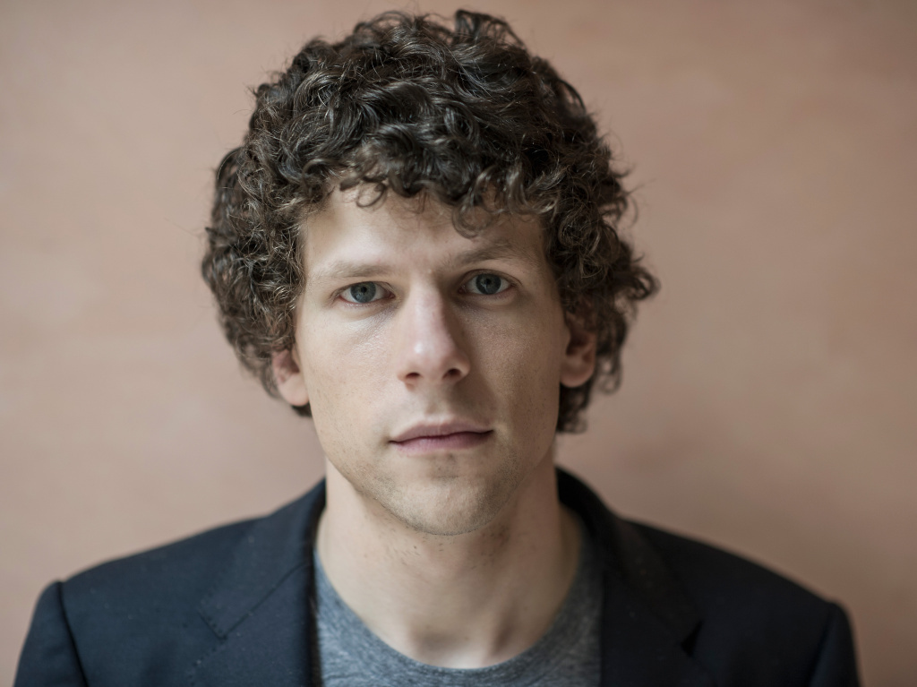 Jesse Eisenberg during a portrait session at the 70th Venice International Film Festival in September 2013.