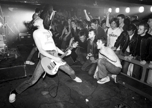 The Ramones at Eric's Club, Liverpool, England