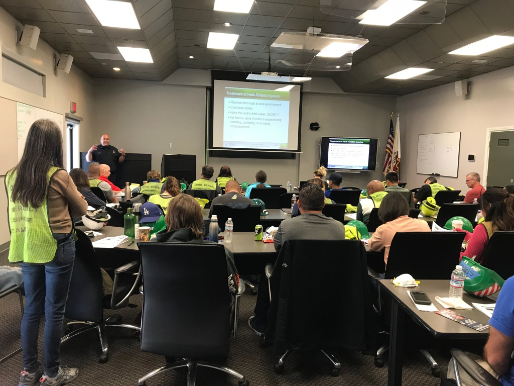 Community Emergency Response Team (CERT) trainees spent Friday to Sunday in the classroom learning about disaster preparedness and response skills like fire safety, light search and rescue, team organization, and disaster medical operations.