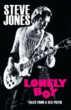 Cover of Steve Jones memoir,