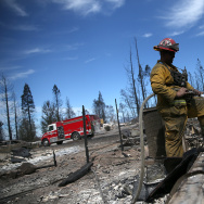 Quick Spreading Wildfire Burns 100 Homes In Northern California