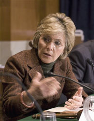Sen. Barbara Boxer, D-Calif. expresses some optimism that Congress and the White House can avert the fiscal cliff. Negotiations between the sides continued before the midnight Monday deadline.
