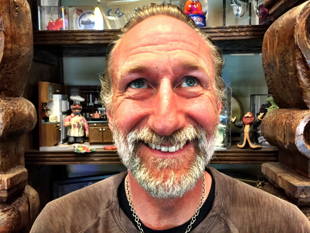 Brian Henson - Jim's son - at his office at the The Jim Henson Company in Hollywood