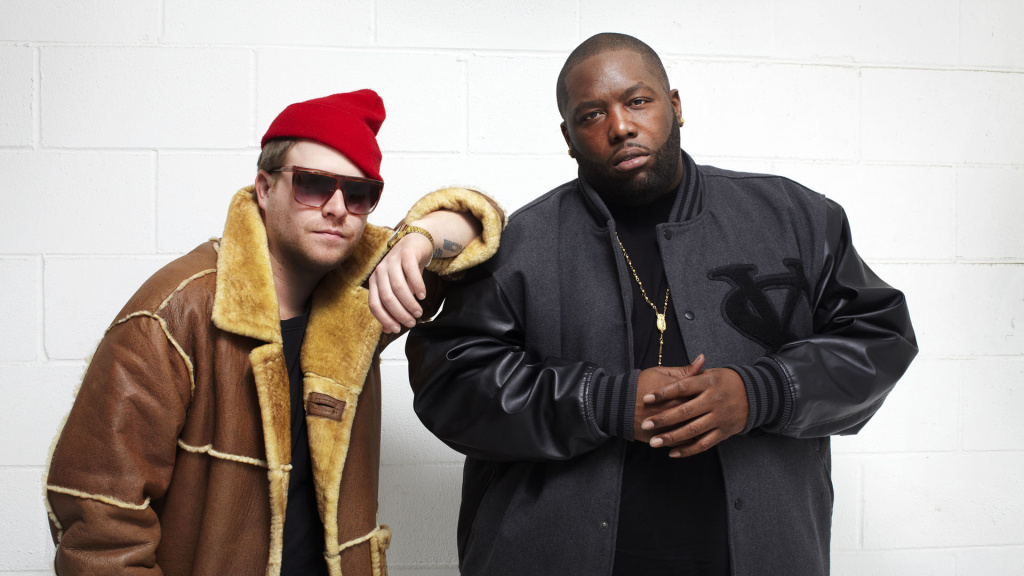 (L-R) EL-P and Killer Mike of the hip-hop group Run The Jewels.