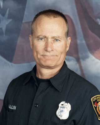 Los Angeles firefighter and paramedic Glenn L. Allen