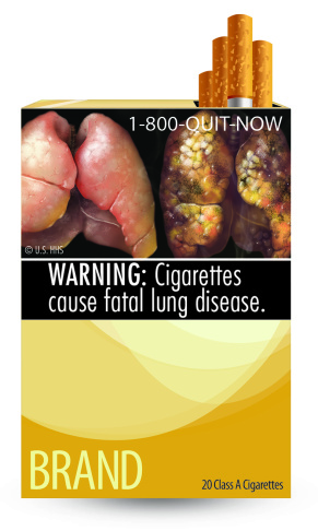 Federal lawmakers would like cigarette packages to include graphic images.